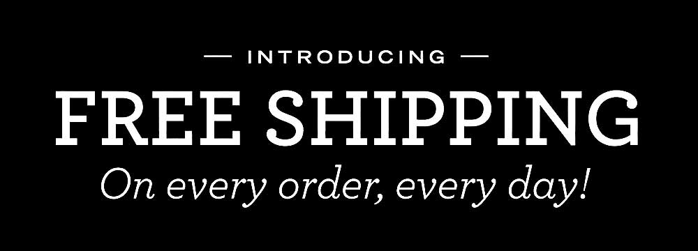 Image result for free shipping banner black and white